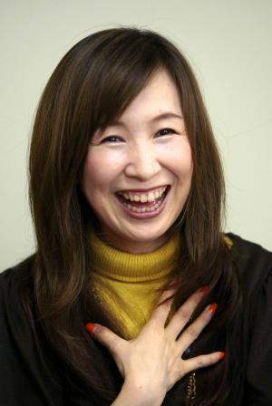ガンダムのアニソンでは絶大な人気を誇る森口博子さん=2008年9月