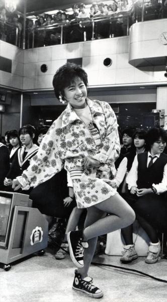 松本明子さん=1985年5月