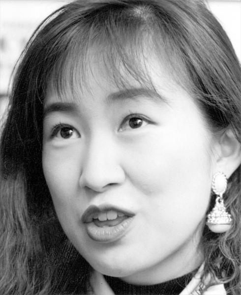 森口博子さん=1993年1月
