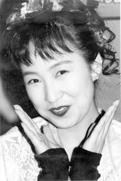 森口博子さん=1991年