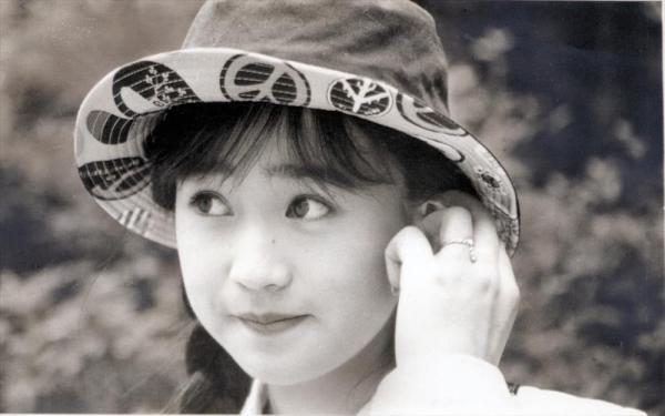 山瀬まみさん=1988年8月