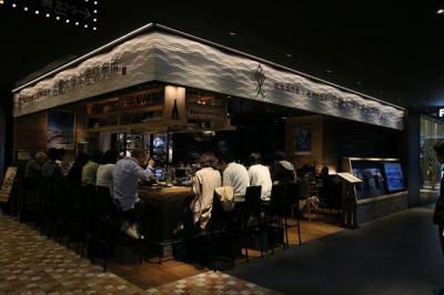 近大水産研究所大阪店でも7月24日、「うなぎ味のナマズ御重」を味わえる=大阪市北区のグランフロント