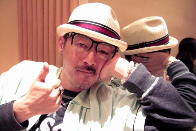 盗撮容疑が明らかになった田代まさしさん=2010年5月25日