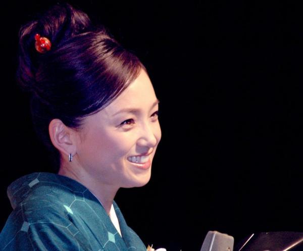 永作博美さん=2008年2月