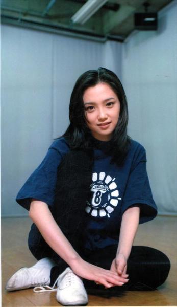 永作博美さん=1997年2月