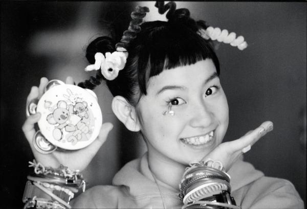 篠原ともえさん=1997年2月
