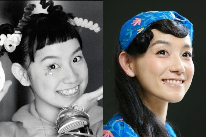 デビュー20年の篠原ともえさん、写真左はシノラーブームで人気を集めた1997年当時の写真