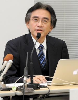 今年5月の決算発表での任天堂の岩田聡さん