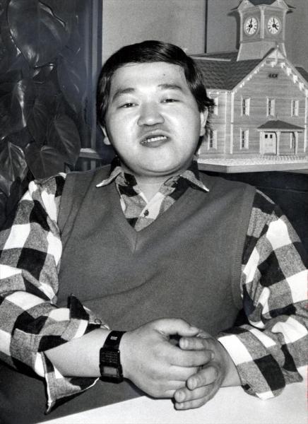 1986年4月、高橋名人と呼ばれたハドソン企画部主任時代の高橋利幸さん