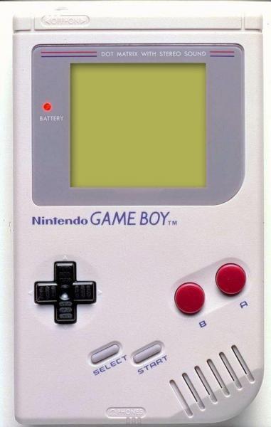 1989年に発売された任天堂のゲームボーイ