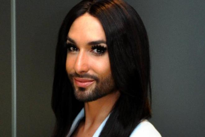 「ひげ面の麗人」と呼ばれる歌手、コンチータ