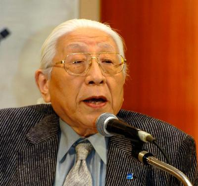 堀場雅夫さん=2010年6月