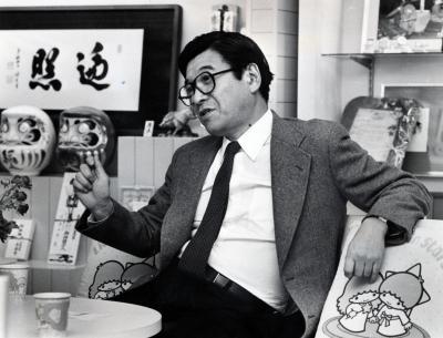 サンリオ社長の辻信太郎さん=1983年2月