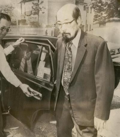 1949年、日本人で初のノーベル賞を受賞した湯川秀樹博士=1981年6月7日