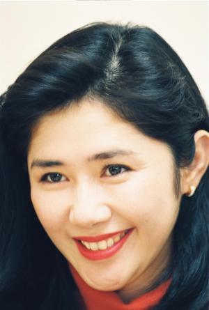 NHK朝の連続テレビドラマ「ちゅらさん」で「おかあさん」役をつとめた田中好子さん=写真は1993年3月撮影