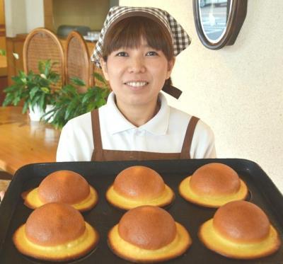 「永野旭堂本店」直営店で作ったぼうしパン