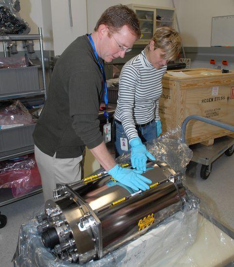 尿の蒸留装置=NASA提供