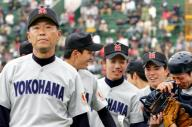 横浜の渡辺元智監督=2006年4月4日