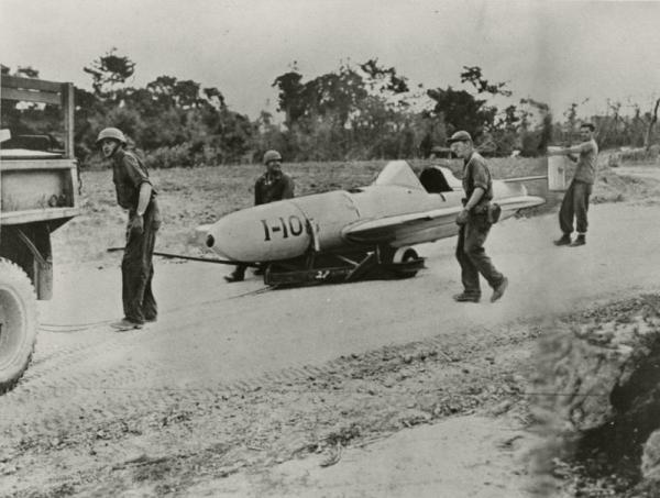 ロケット特攻機「桜花」=1945年