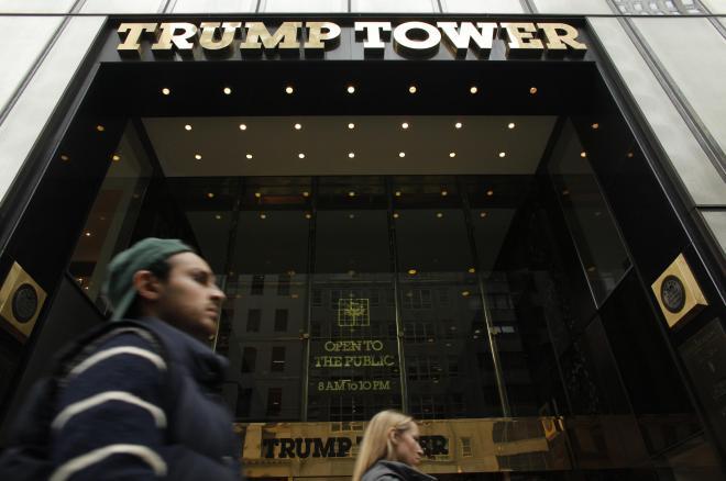 トランプ・タワー・ビル=米、ニューヨーク