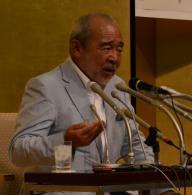 直木賞の選考経過を説明する北方謙三選考委員