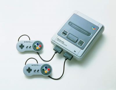 1990年に発売された任天堂のスーパーファミコン