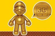 30周年の記念してタイトーが作ったゴールドマリオ=Nintendo Licensed by Nintendo