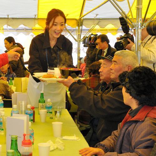 【2013年2月22日】福島県飯舘村住民の仮設住宅を訪問
