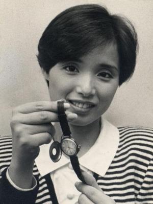 高田みづえさん=1984年10月