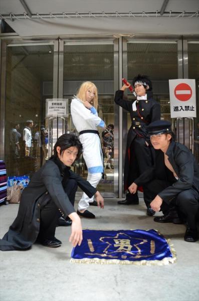 「魁!!男塾」のコスプレ=2014年7月のワンフェス