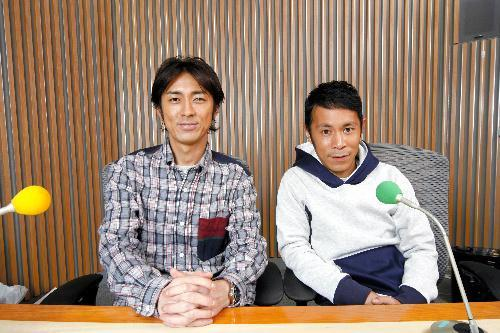 【1994年~】ナインティナインの矢部浩之さんと岡村隆史さん=ニッポン放送提供