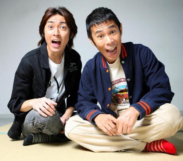 【1994年~】ナインティナインの矢部浩之さんと岡村隆史さん=2006年9月撮影