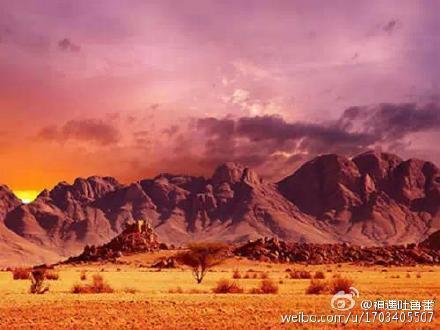 火焔山の風景