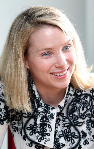米ヤフーCEOのマリッサ・メイヤー氏。スタンフォード大を卒業後の1999年、創業間もないグーグルに、20番目の社員として入社。初めての女性の技術者として中核事業であるネット検索などを統括=2010年6月22日