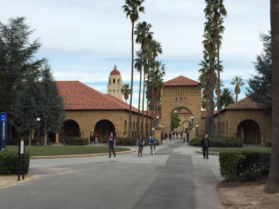 シリコンバレーの人材供給源、スタンフォード大学のキャンパス
