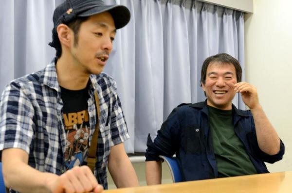 【2013年7月】音楽担当の大友良英さんと脚本家の宮藤官九郎さん