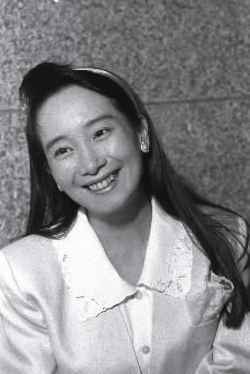 アグネス・チャンさん。1955年香港生まれ。1972年「ひなげしの花」で、日本での歌手デビュー。上智大学を経て、米スタンフォード大学で教育学博士号=1989年8月14日