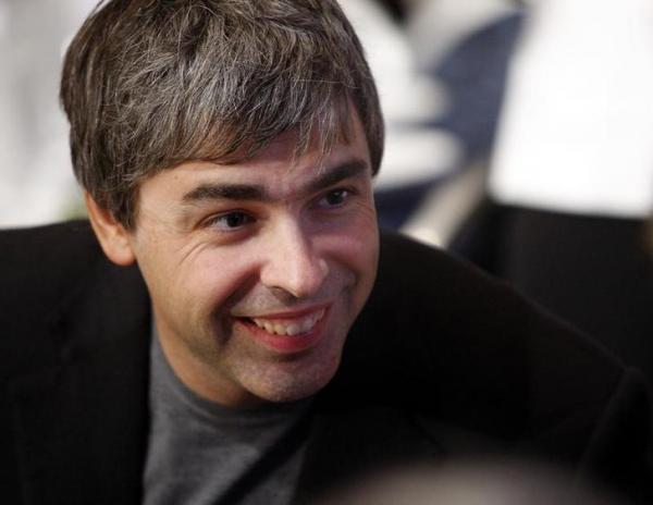 ラリー・ペイジ氏。スタンフォード大大学院の博士課程在学中だった1998年にグーグルを創業=2007年9月27日