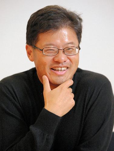 米ヤフー共同創業者のジェリー・ヤン氏。1995年、米スタンフォード大在籍中にヤフーを設立=2006年3月28日