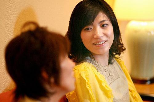 川上未映子さん、第138回芥川賞を受賞=2008年3月8日