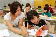 読書感想文の書き方を大学生から教わる小学生