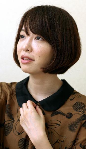 本谷有希子さん、2009年に岸田国士戯曲賞を受賞=2012年7月31日