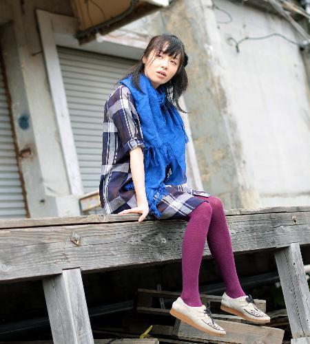 本谷有希子さん、2009年に岸田国士戯曲賞を受賞=2008年9月27日