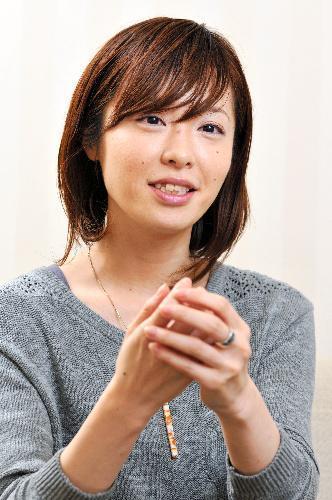 本谷有希子さん、2009年に岸田国士戯曲賞を受賞=2011年2月21日