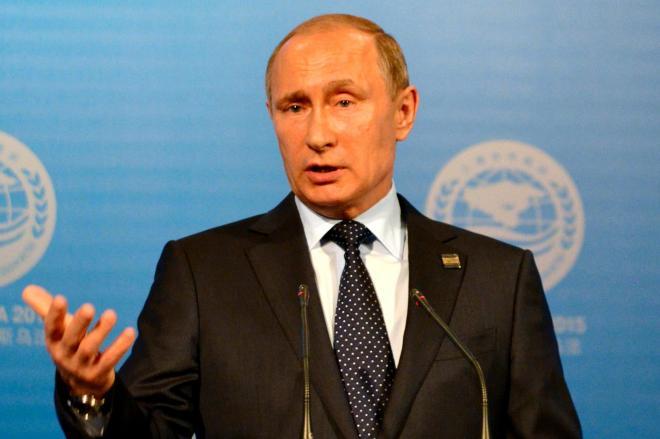 ロシアのプーチン大統領=2015年7月10日