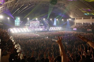 日本初開催となった昨年のロックコープス=RockCorps supported by JT 実行委員会提供