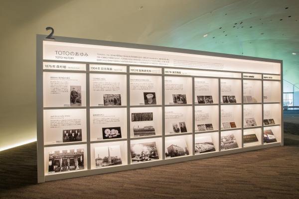 TOTOミュージアム「TOTOのあゆみ」