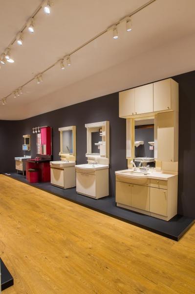 TOTOミュージアム「洗面化粧台」