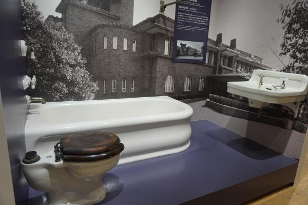 TOTOミュージアムに展示されている「旧総理大臣官邸」