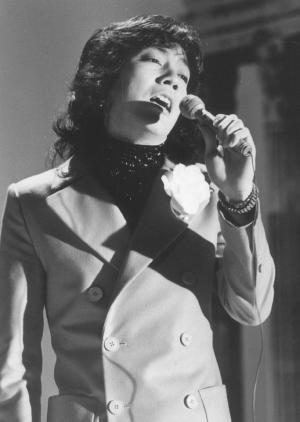 沢田研二さん=1976年